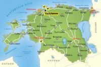 эстония-карта