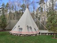 Вигвам - Типи шатер с коттеджем для мероприятия