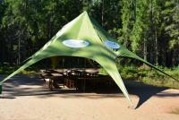 "Корпоративный шатер на берегу озера ""green"""