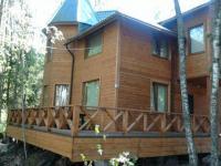 Коттедж на 10 человек, 5 спален на берегу озера