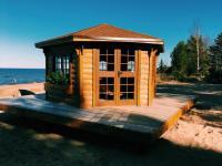Беседка «У маяка» на Ладожском озере