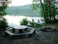 "Площадка для пикника на берегу озера ""Мини"""