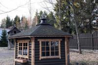 Гриль-домик у Ладожского озера